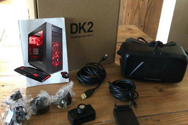 8 Occulus Rift DK2 Virtual Reality Sets & 8 High Power Gaming computers  – Sold together or separate
